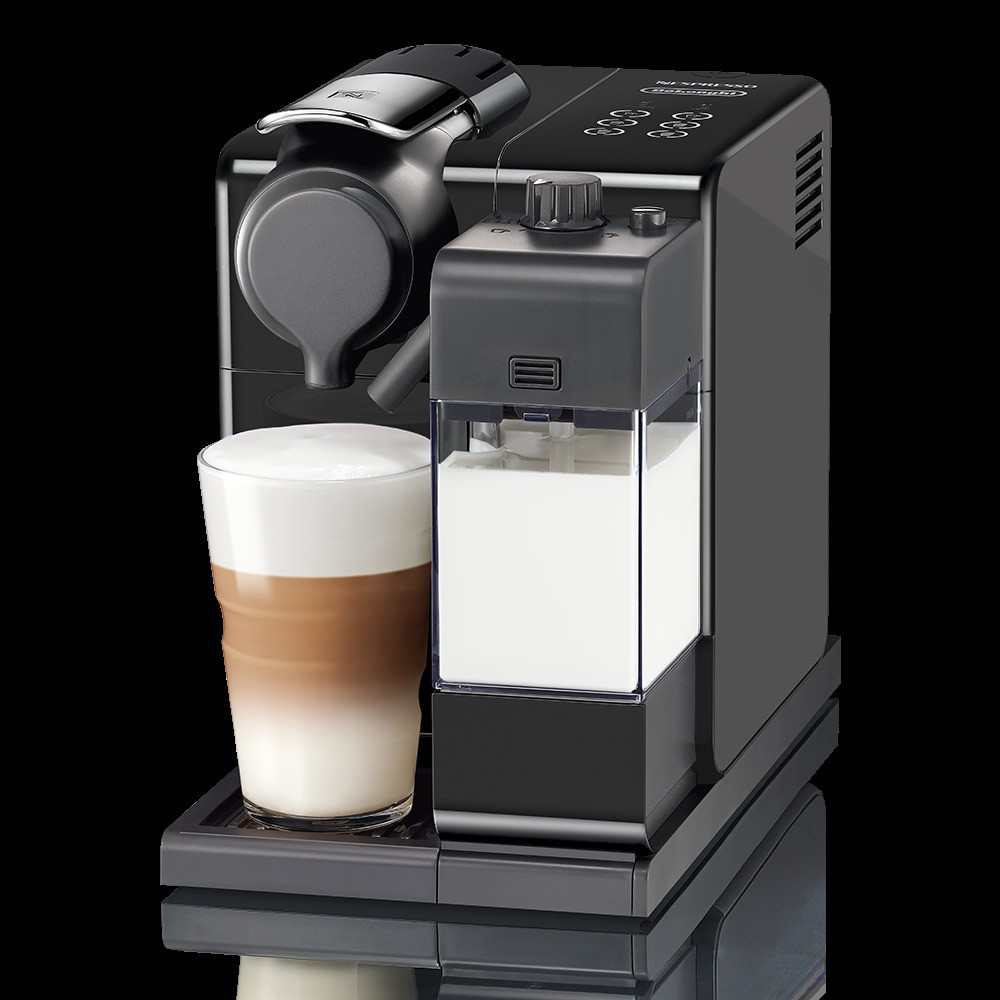 Nespresso Lattissima Touch Espresso Machine Washed Black by De'Longhi 53797510