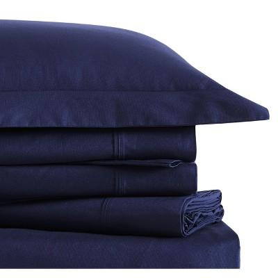 Classic Cotton Solid Sheet Set - Brooklyn Loom