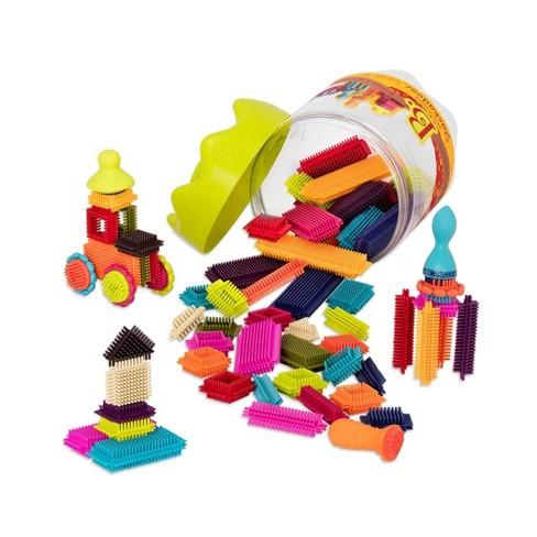 B. toys Educational Building Set - Bristle Block Stackadoos - image 1 of 4
