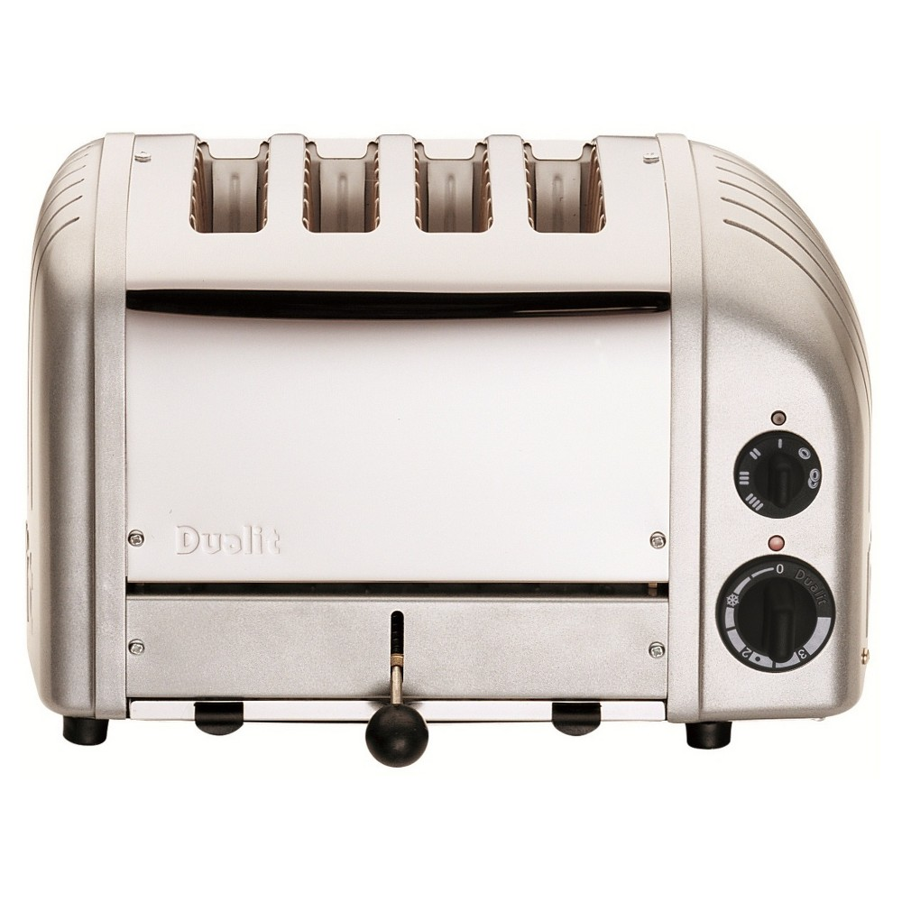 Image of Dualit Metallic Toaster 47162, Metallic Silver