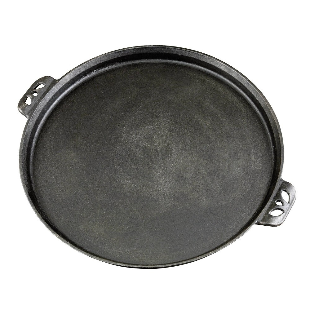 Image of Camp Chef Cast Iron Pizza Pan - Black