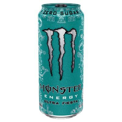 Monster Ultra Fiesta Energy Drink - 16 fl oz Can