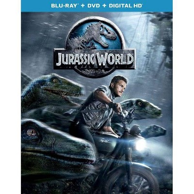 Jurassic World (Blu-ray + DVD + Digital)