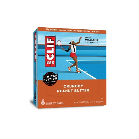 CLIF Bar Crunchy Peanut Butter Energy Bars - 6ct - image 1 of 4