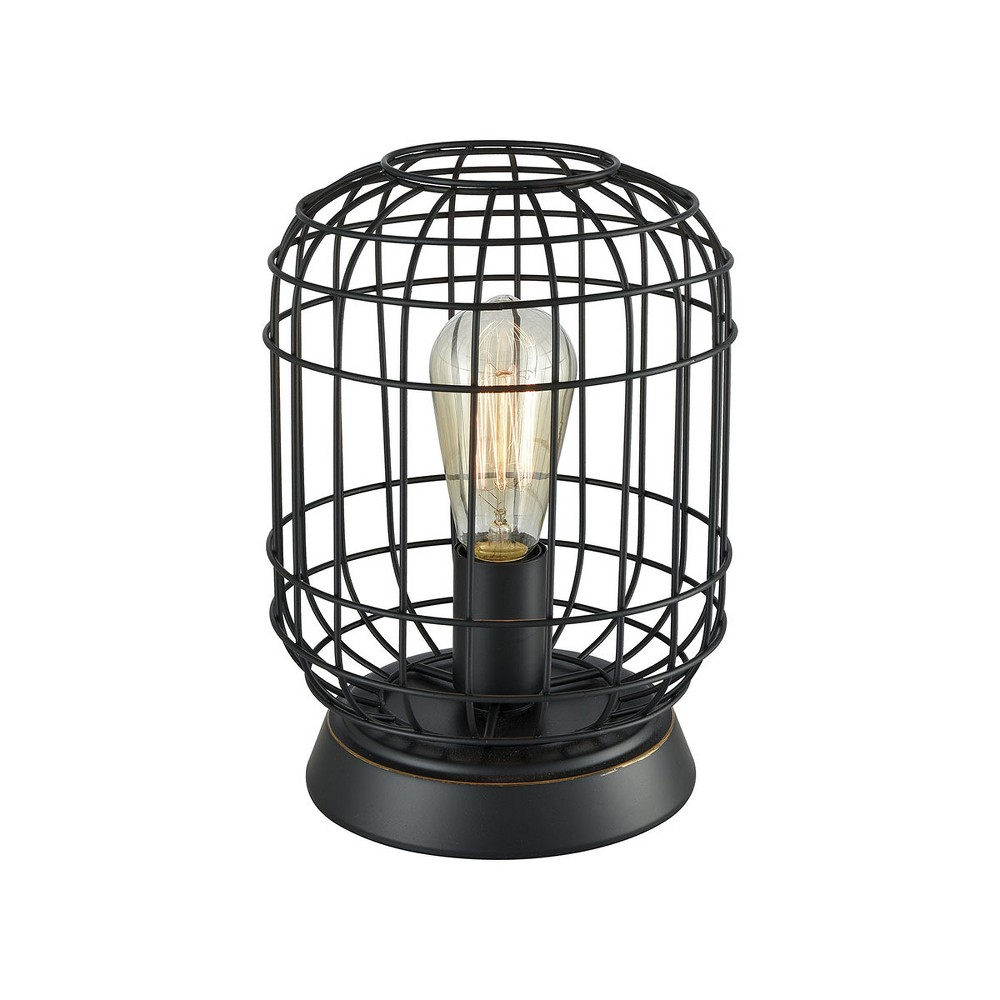 Image of Cagworth Table Lamp Bronze (Includes Energy Efficient Light Bulb) - Pomeroy
