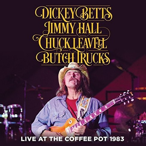 Leavell Hall Betts - Live At The Coffee Pot 1983 (CD) - image 1 of 1