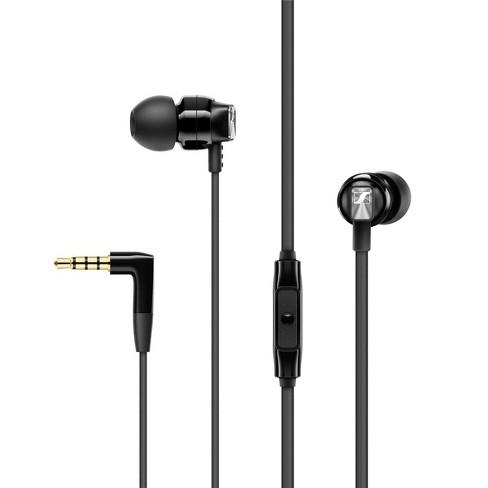 Sennheiser CX 300S Closed-Back In-Ear Earphones with Microphone, Black - image 1 of 3