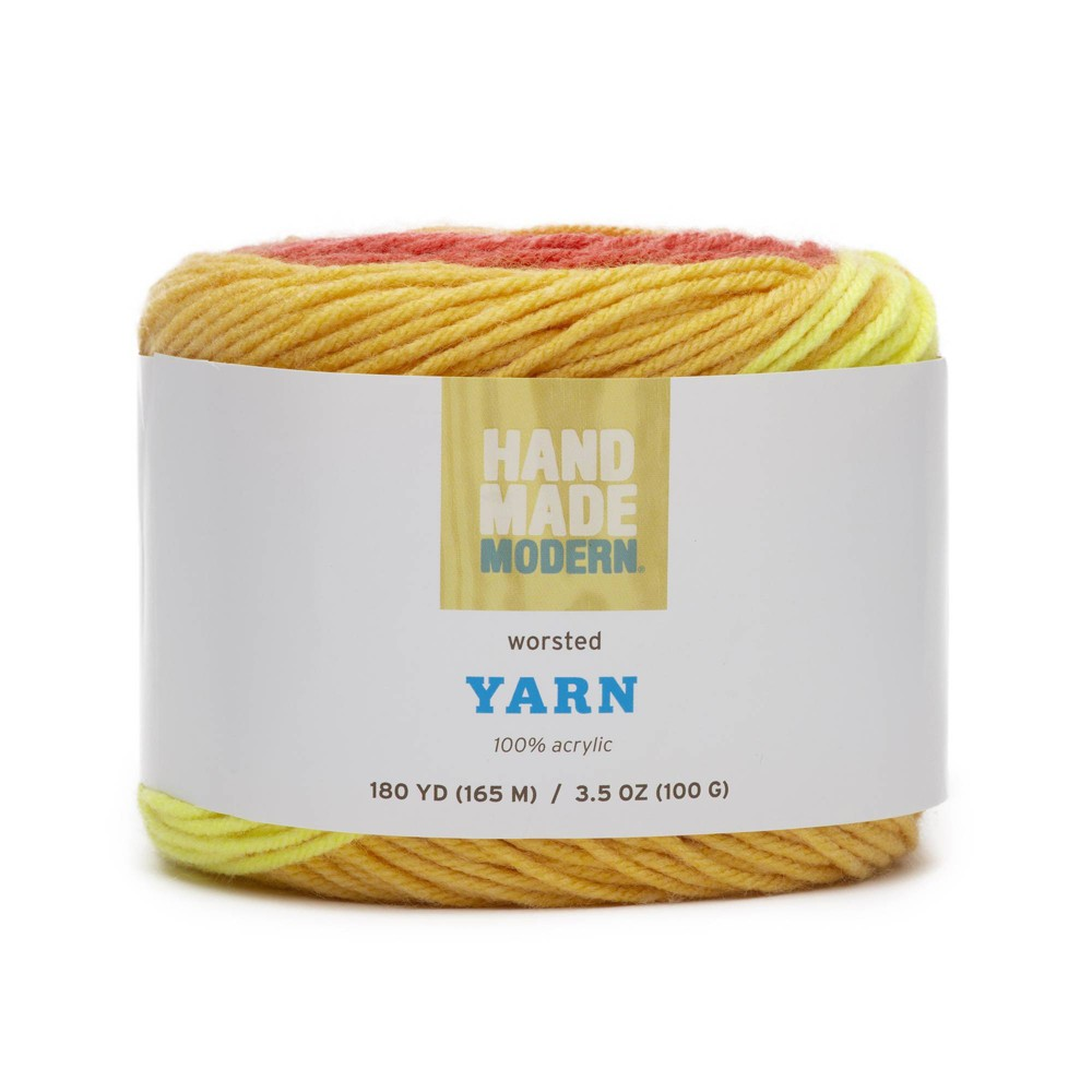 Image of 180yd Worsted Yarn - Hand Made Modern Golden