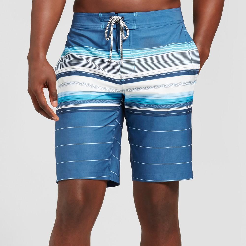 Men's 10 Citation Board Shorts - Goodfellow & Co Blue 28