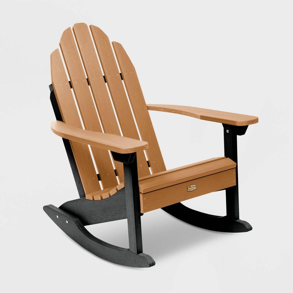 Mountain Bluff Essential Patio Adirondack Rocking Chair - Tan - Elk Outdoors