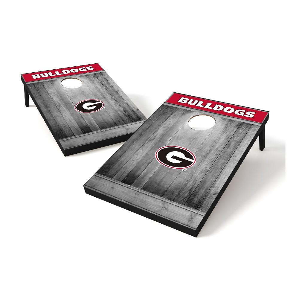 NCAA Georgia Bulldogs Tailgate Toss Wood College