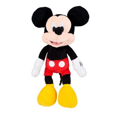 Just Play Disney Mickey Mouse 11 inch Child Plush Toy Stuffed Character Doll