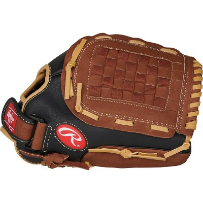 "Rawlings Playmaker 12.5"" T Ball Glove - Black"