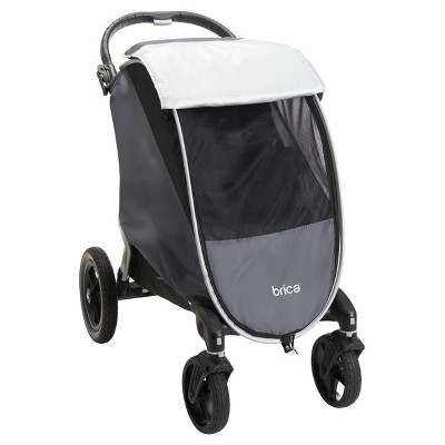 Brica Shield Stroller Comfort Canopy - Gray