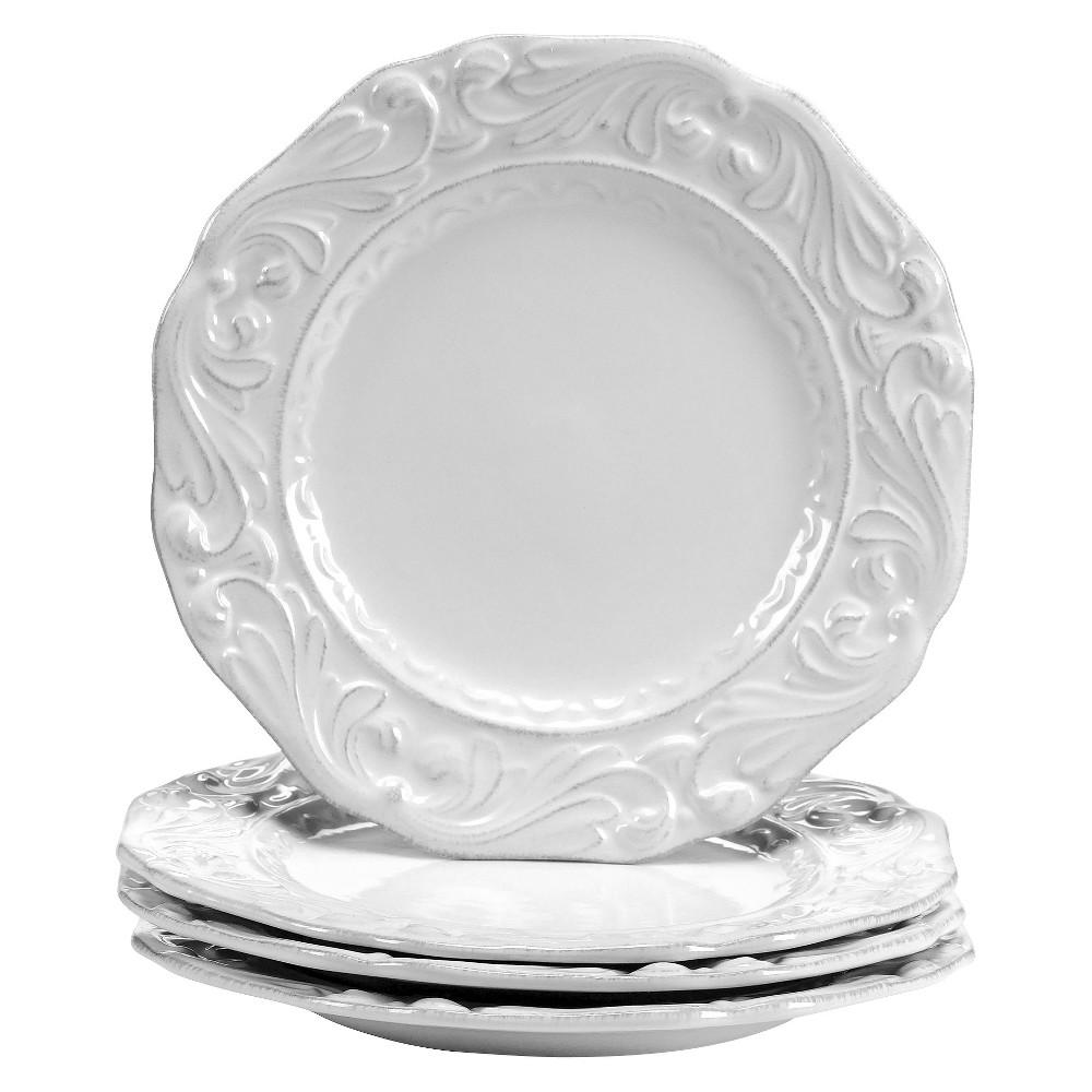 Certified International Firenze Ivory Dessert Plates - 9.5