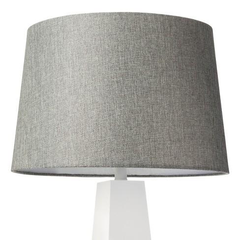 13 X 15 10 Inch Gray Lampshade Threshold