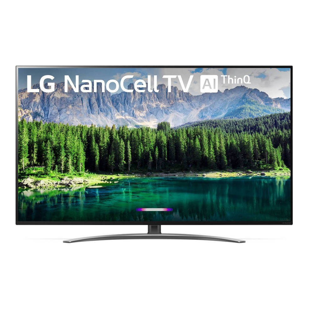 LG 55'' Class 4K UHD Smart HDR LED NanoCell TV w/ AI ThinQ (55SM8600PUA), Black