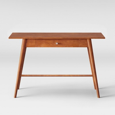 amherst mid century modern desk console table brown project 62 rh target com mid century couch table mid-century furniture coffee table