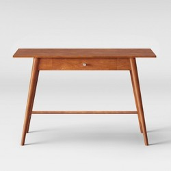 Amherst Wood Writing Desk with Drawers Brown - Project 62™