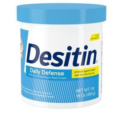 Desitin Rapid Relief Creamy Diaper Rash Ointment - 16oz