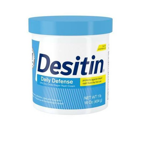 Desitin Rapid Relief Creamy Diaper Rash Ointment - 16 oz. - image 1 of 4