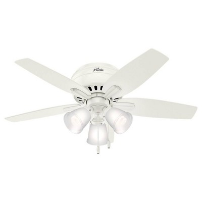 "42"" LED Low Profile Lighted Ceiling Fan - Hunter Fan"
