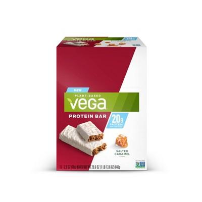 Vega 20g Protein Bars - Salted Caramel - 12pk