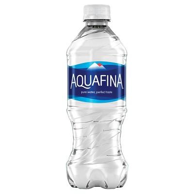 Aquafina Pure Unflavored Water - 20 fl oz Bottle