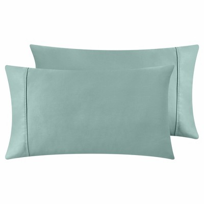 400 Thread Count 100% Cotton - Sateen Weave, Ultra Soft Pillowcase Pair - California Design Den