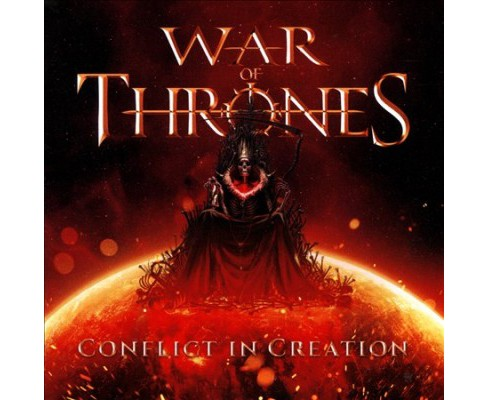 War Of Thrones - Conflict In Creation (CD) - image 1 of 1