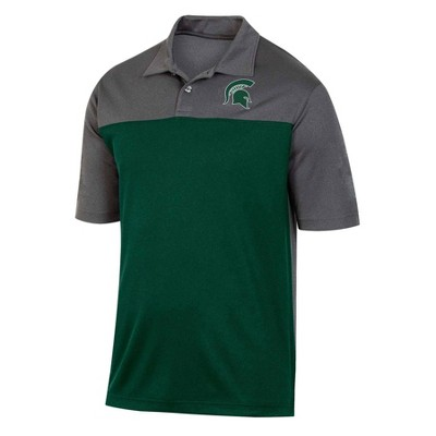 NCAA Michigan State Spartans Men's Short Sleeve Polo Shirt