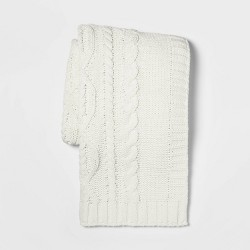 Cable Knit Chenille Throw - Threshold™