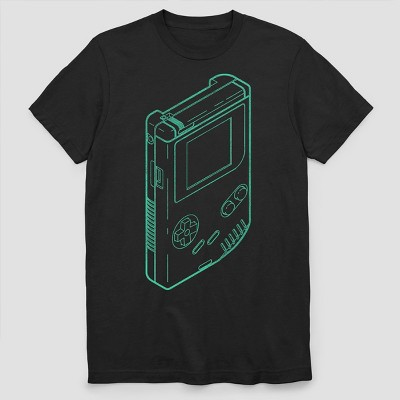 Men's Nintendo Short Sleeve Graphic T-Shirt - Black M