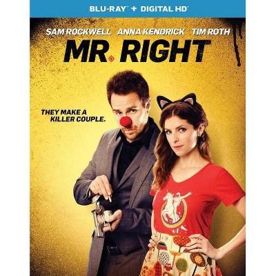 Mr. Right (Blu-ray)(2016)