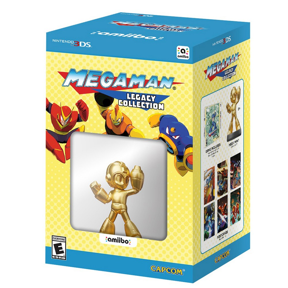 Mega Man Legacy Collection Collector's Edition Nintendo 3DS