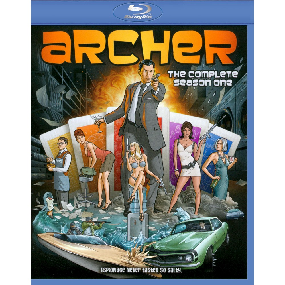 Archer: Season 1 (Blu-ray)