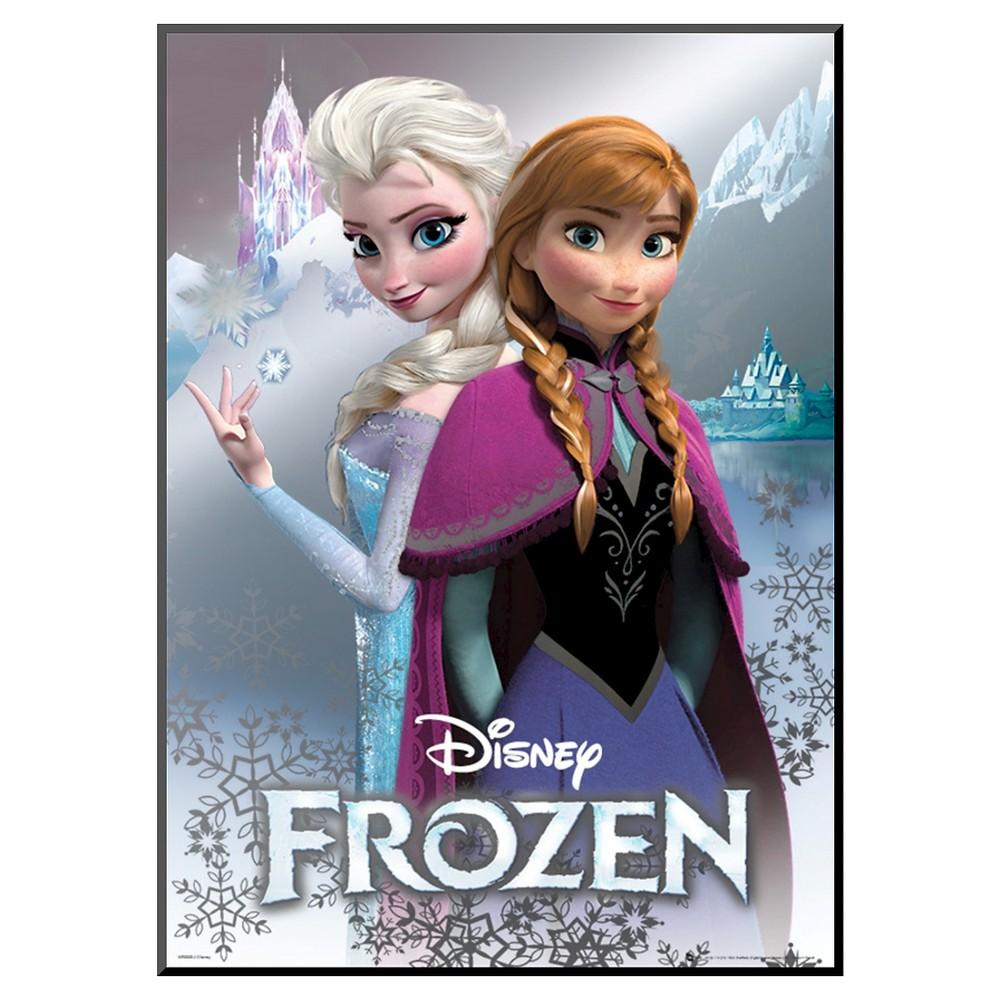 Art.com Frozen Anna and Elsa Poster, Blue