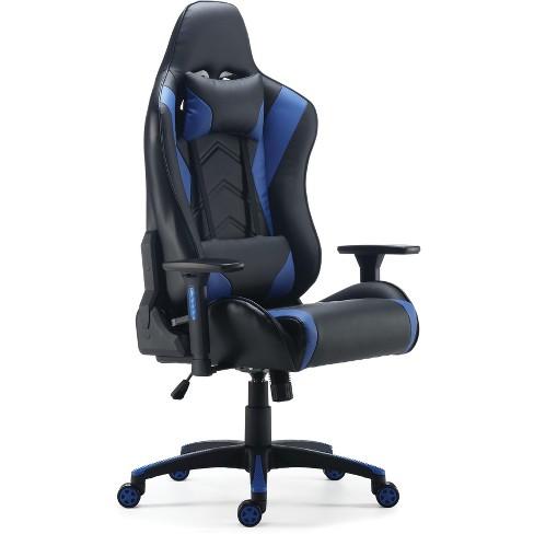 Staples Vartan Gaming Chair Blue 24326200 Target