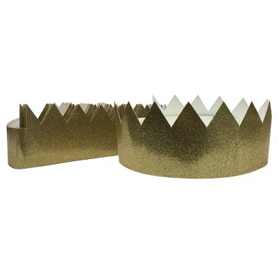 view 12ct Gold Tiara Crown - Spritz on target.com. Opens in a new tab.