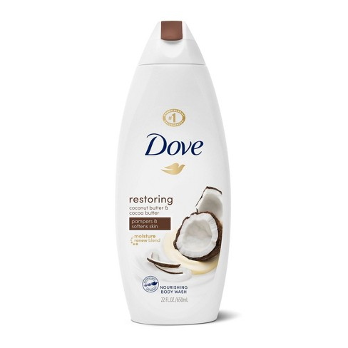 Dove Purely Pampering Coconut Butter & Cocoa Butter Body Wash - 24 fl oz - image 1 of 4