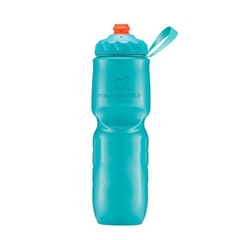 Polar 24oz Squeeze Water Bottle - Aqua - image 1 of 1