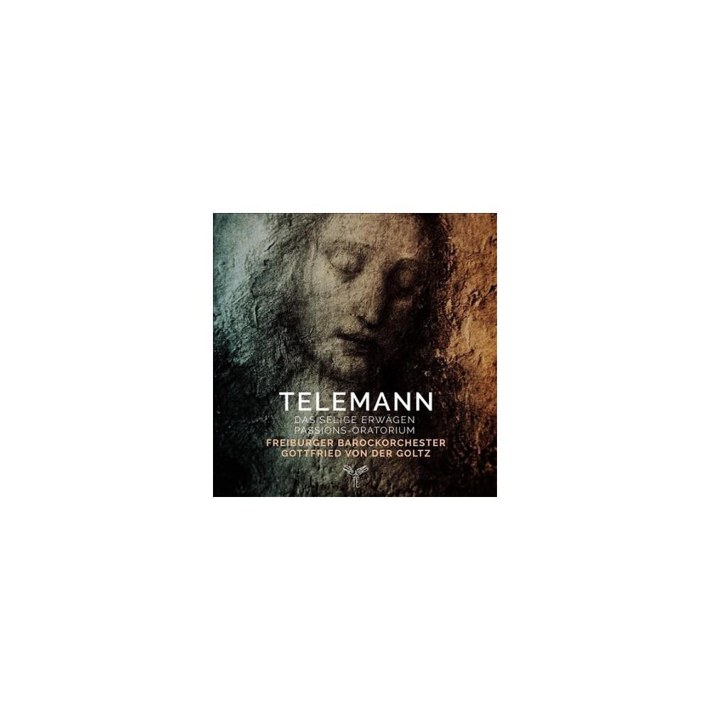 Freiburger Barockorc - Telemann:Das Selige Erwagen (CD)