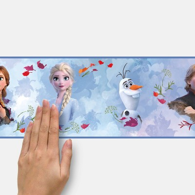 Frozen 2 Peel and Stick Border - RoomMates