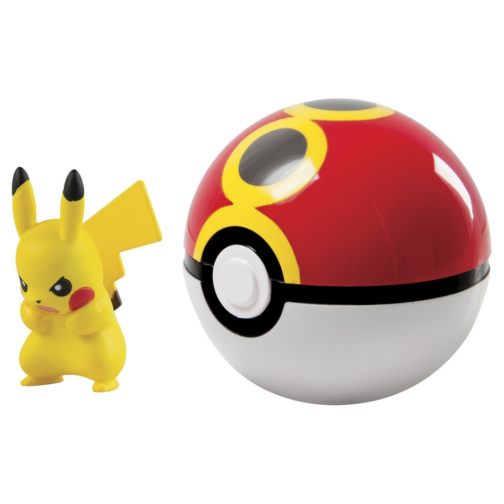 Pokémon Clip 'n' Carry Poké Ball, Pikachu and Repeat Ball