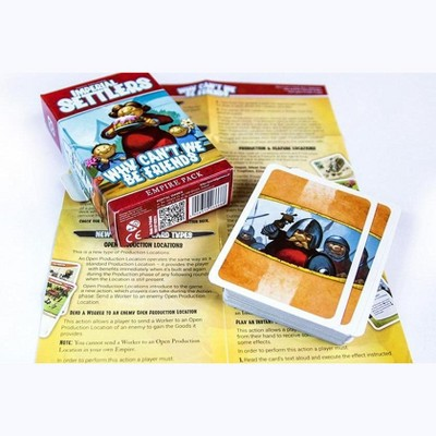 Imperial Settlers - Why Can't We Be Friends Expansion Board Game