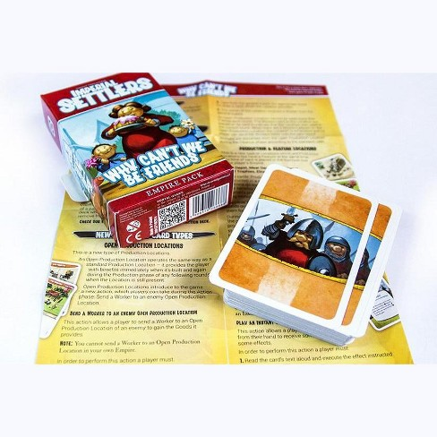 Imperial Settlers - Why Can't We Be Friends Expansion Board Game - image 1 of 3