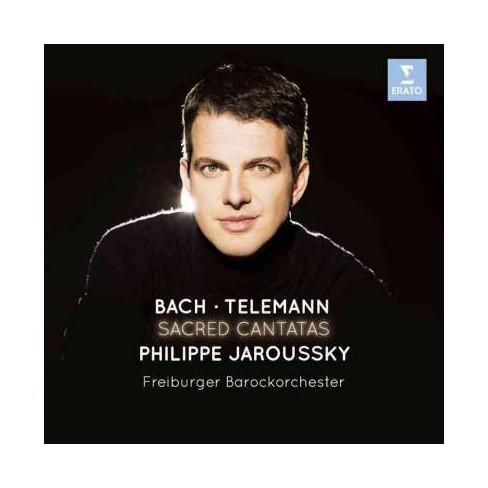 Petra Mllejans; Telemann - Bach/Telemann: Sacred Cantatas (CD) - image 1 of 1