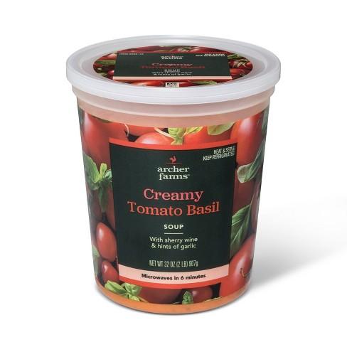 Creamy Tomato Basil Soup 32oz - Archer Farms™ - image 1 of 1