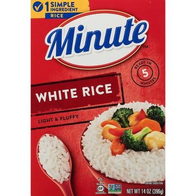 Minute Instant White Rice - 14oz