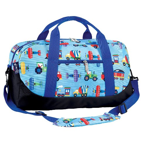 Wildkin Olive Kids Trains-Planes & Trucks Duffel Bag - image 1 of 1